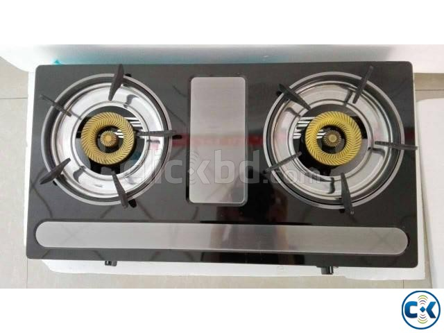 Brand New 2burner Auto Gas Stove-2 Italy | ClickBD large image 0