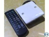 Remote control fan light switch