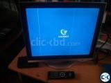 LG 17 LCD monitor n free TV card