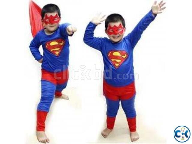 SUPERMAN COSTUME FOR KIDS | ClickBD large image 0