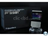 Brand New BlackBerry Porsche Design Sealed Pack With Warrnt