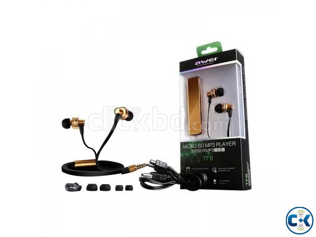 AWEI MP3 PLAYER EARPHONE | ClickBD large image 0