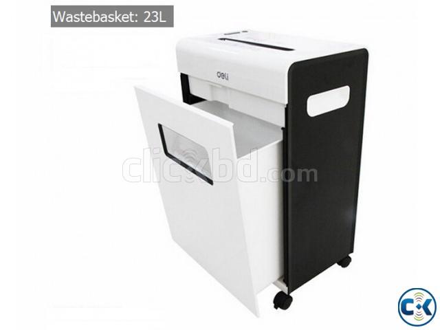 Deli Paper Shredder 9902 | ClickBD large image 0