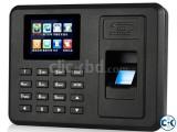 Latest fingerprint time attendance machine