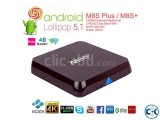 M8S Quad Core New Android 5.1 TV Box 2G 8G