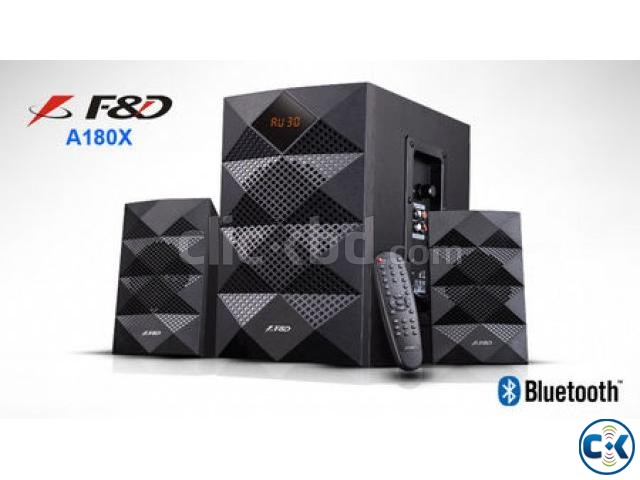 F D A180X Multimedia Bluetooth Speaker | ClickBD large image 1