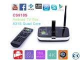 Built in 5.0MP Camera 2G 16G Quad Core Android 4.4 TV Box