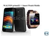 WALTON primoE3 with Smart Mobile watch Phone