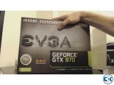 Intact Evga cards with 1 year warranty
