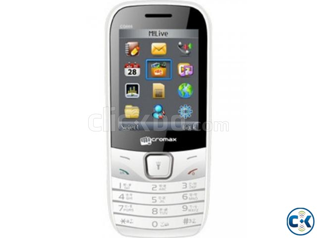 Micromax CDMA GSM GC 666 Bar Phone | ClickBD large image 0