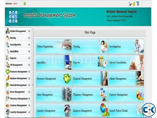 Hospital Management System Software | ClickBD