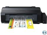 Epson L130 USB 27 PPM Speed CISS System Color Inkjet Printer