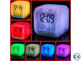 Automatic Color Changing LED Table Clock