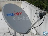 Tata Sky Satellite complete Setup