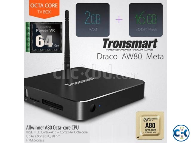 Tronsmart Draco AW80 Meta Octa Core Android tv box | ClickBD large image 0
