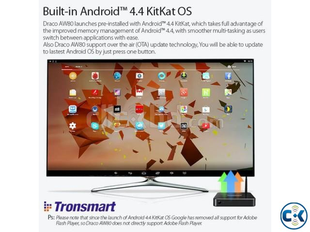 Tronsmart Draco AW80 Meta Octa Core Android tv box | ClickBD large image 2