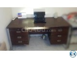 Office TABLE Foreign 5ft long Good Quality