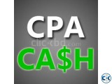 CPA full course with 100 income