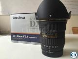 Tokina PRO DX-II 11-16mm f 2.8 Lens