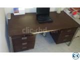 Office Desk Table forein bideshi wood HIGH Quality