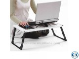 PORTABLE FOLDING LAPTOP TABLE COOLER