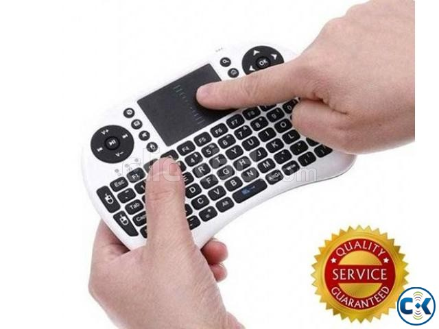 MINI WIRELESS KEYBOARD WITH TOUCHPAD | ClickBD large image 0