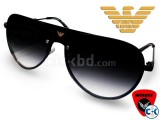 Emporio Armani Shield Aviator Sunglass 2