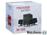 Microlab M-108 1 year warranty 10 watt