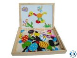 3D MAGNETIC WOODEN DRAWING BOARD A 084