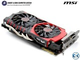 MSI NVIDIA GeForce GTX 980TI GAMING 6G