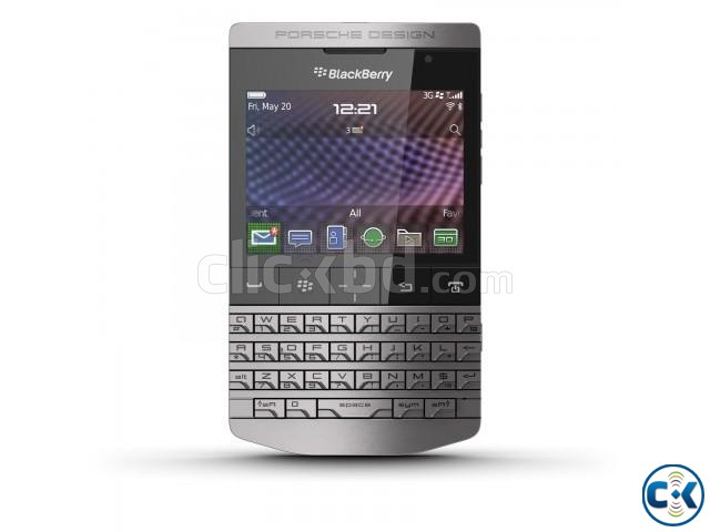 Brand New BlackBerry Porsche Design Sealed Pack With Warrnt | ClickBD large image 0