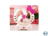 hello kitty USB Rechargeable Electric Fan