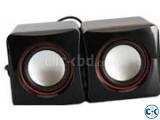 USB MINI SPEAKER 2Pcs BOX