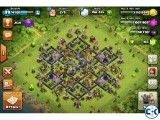 Clash of clanss TH9 base for sell