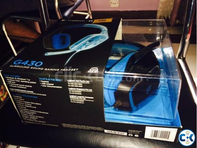 Logitech G430 Gaming Headset | ClickBD large image 1