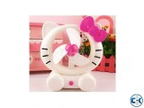 hello kitty USB Rechargeable Electric Fan