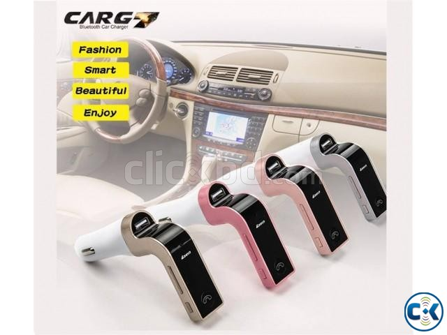 Carg7 USB Chager Bluetooth Receiver Fmtransmitter | ClickBD large image 0