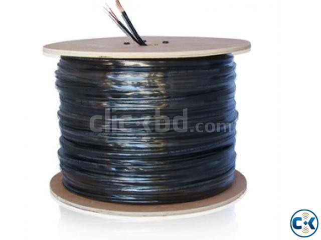 COAXIAL CABLE WITH POWER WIRE | ClickBD large image 0