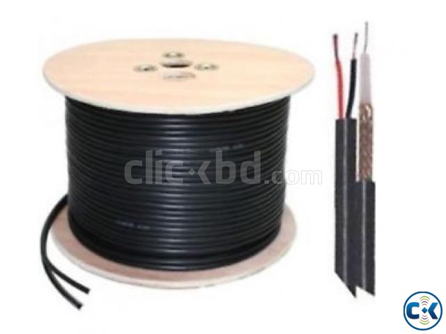 COAXIAL CABLE WITH POWER WIRE | ClickBD large image 1