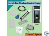 Access Control Time Attendance Complete Package price in B
