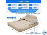 Alpha convertible air lounge bed queen mattress