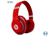 Headphones Beats Studio Wireless Over-Ear Headphone Red