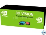 NVIDIA 3D GLASS FOR Laptop Desktop LED LCD TV 01718553630