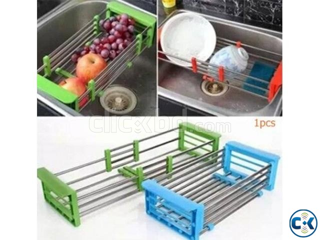 Rack Collapsible Over Sink Dish Drainer