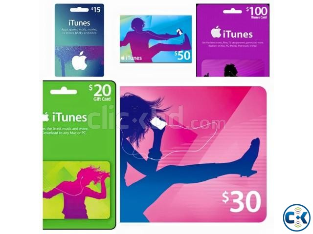 Apple itunes gift card Google Play gift card PSN card | ClickBD large image 1