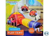 Kids Play Adventure Portable Backyard Play Tent with Tube