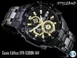 CASIO EDIFICE EFR 538BK