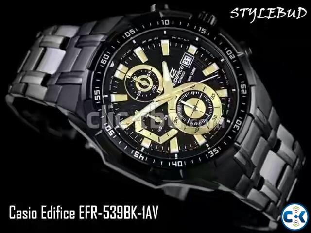 CASIO EDIFICE EFR 538BK | ClickBD large image 0