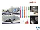 Combo Offer- Car Mobile Phone Holder USB Flexible LED Stick