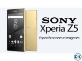 sony xperia Z5 intact box with 1year service warranty